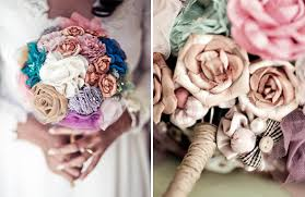 how to make bridal bouquets diy fabric wedding bouquets imbue you i do