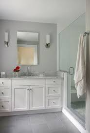 Tile Flooring Ideas For Bathroom Colors 5 Tricks For Choosing The Perfect Paint Color White Vanity