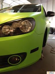lime green bentley matte lime green vw golf vehicle customization shop vinyl car