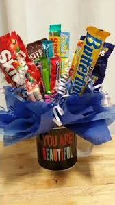 gift mugs with candy 9 best candy bouquet images on candy bar bouquet