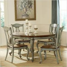 Kitchen Table Chairs  Piece Dining Set Wooden Chairs Table Glass - Painted kitchen tables and chairs