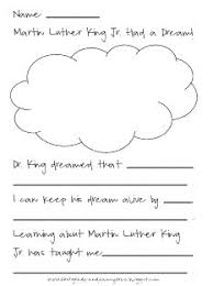 collection of solutions mlk worksheets first grade in summary