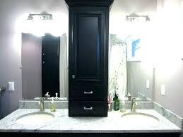 Bathroom Linen Shelves Bathroom Linen Storage Corner Linen Cabinet For Bathroom Linen