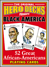black america deck cards