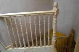 Wooden Banister Spindles How To Color Wood With Dye And Stain To Match An Older Finish
