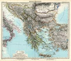 Map Of The Balkans Balkans