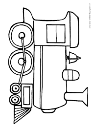 train color transportation coloring pages color plate