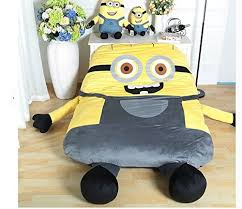 giant bean bag sofa funny despicable me minions sleeping bag sofa bed twin bed double