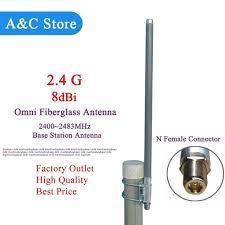Antena Omni 2 4g antena wi fi antena omni antena de fibra de vidro base de fibra