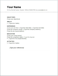 Resume Cover Letter Template Sample Of A Resume For Job Application Resume Job Resume Cover