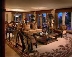 Mediterranean Tuscan Style The Lounge Family Room - Tuscan style family room