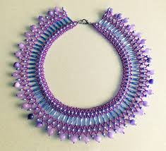 necklace from beads images Pretty bugle bead jewelry beading tutorials the beading gem 39 s jpg