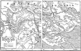 Balkan States Map by 16 November 1915 U2013 Balkan State The Great War Blog