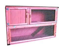 Rabbit Hutch Ramp Plywood Double Decker With Internal Ramp 48 Hutch Runs Indoor