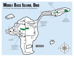 Put In Bay Ohio Map by Maps Of The Lake Erie Islands Lake Erie Islands Conservancy