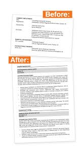 Curriculum Vitae Medical Doctor Template Cv Makeovers