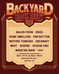 block party 2017 u2014 backyard on bell
