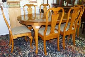pennsylvania house dining table with 6 chairs marva u0027s