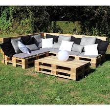 fabrication canapé palette bois bricolage creer du mobilier de jardin avec des palettes