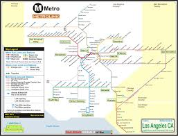 Boston T Map Pdf by Los Angeles Subway Map Pdf My Blog