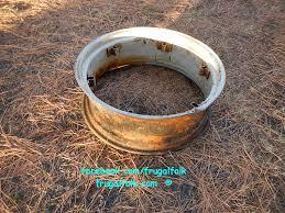 Firepit Ring Pit Ring Www Frugalfolk Comwww Frugalfolk