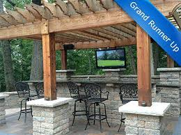 Outside Patio Covers by Outdoor Patio Tv Ideas Back Patio Tv Ideas Patio Tv Ideas Flat