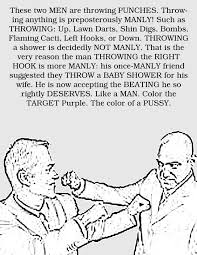 the u0027how to be a man u0027 coloring book
