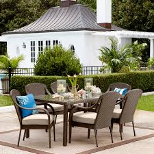 Patio Furniture 7 Piece Dining Set - grand resort summerfield 7 piece patio dining set http www