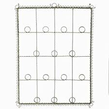 twisted wire photo greeting card holder wall