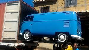 volkswagen van hippie blue kombi 1972 panel van blue loading ctr 04 09 17 youtube