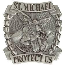 Flag Shadow Box Michaels Saint Michael The Archangel Lapel Hat Pin Medals Of America