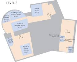 Dance Studio Floor Plan Floor Plans A Celebration Of The Arts At Princeton