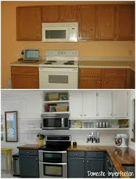 How To Update Old Kitchen Cabinets Budget Kitchen Remodel Budget Kitchen Remodel Shelves And Ceiling