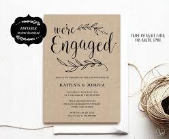 engagement invitations online templates best 25 engagement