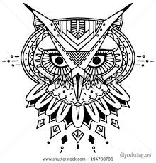 trippy owl coloring pages jpg 450 470 coloring pages