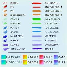paint tool sai brush set by iris hime deviantart com on