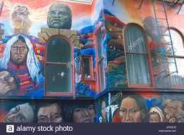 latino hispanic wall mural painting in the mission district san latino hispanic wall mural painting in the mission district san francisco california