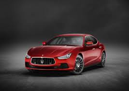 red maserati maserati ghibli model year 2017