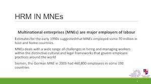 Universities As Multinational Enterprises The Multinational Multinational Business Week 6 Lecture Hour Ppt