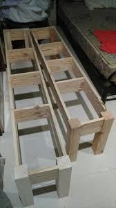 diy wooden pallet outdoor bench