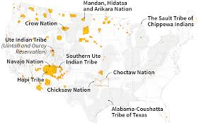 Navajo Reservation Map In Montana U0027s Indian Country Tribes Take Opposite Sides On Coal