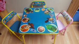 toy story activity table toy story table and chair kijiji in ontario buy sell save