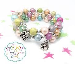 bracelet kit images Diy bracelet stardust bead kids jewellery making kit etsy jpg