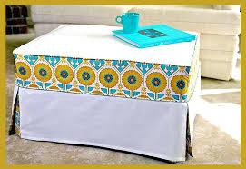 Stretch Ottoman Slipcover Oversized Ottoman Slipcover Click To Enlarge Oversized Stretch