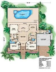 Florida Style Homes Florida Style House Plans 1786 Square Foot Home 1 Story 3