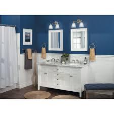 Moen YBCH Brantford Chrome Bathroom Lighting Lighting - Bathroom lighting fixtures chrome 2
