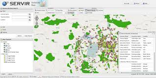 Uganda Africa Map by Servir Africa Releases New Application For Mapping Biodiversity