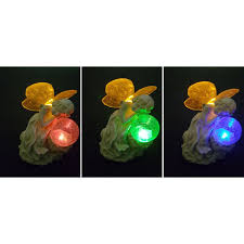 Crackle Globe Solar Lights by Serenity Fairy Wtih Crackle Glass Globe Solar Figurine Light 6