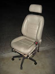 Office Chair Cheap Car Seat Office Chair 4 Steps With Pictures