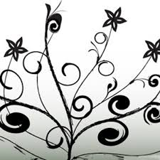 free flower ornaments vector 1 vector free
